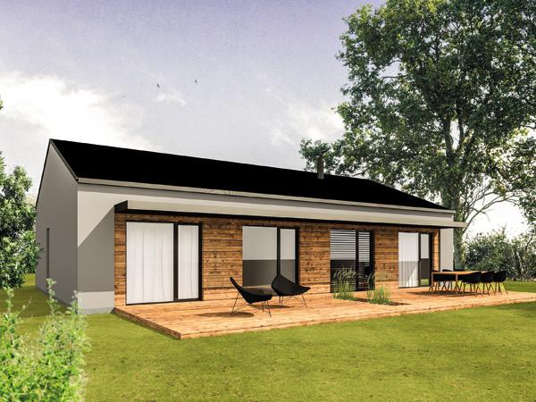 Bungalow aumer group massivh user gewerbebau for Massivhaus modern