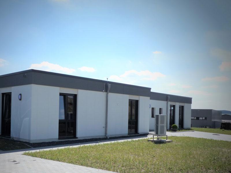 Firmenzentrale Aumer Stahlbau | Hallenbau Außenansicht