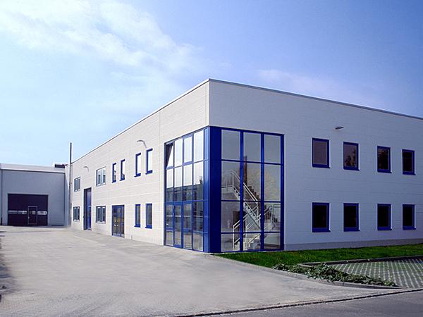 Aumer Gewerbebau Garching - Hallenbau, hebelHalle Partner