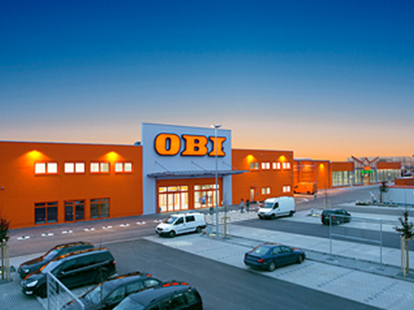 Obi baumarkt aumer group massivh user gewerbebau for Pool obi baumarkt