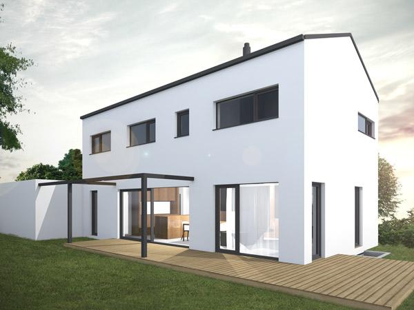 Aumer Massivhaus Designhaus Aurora 01