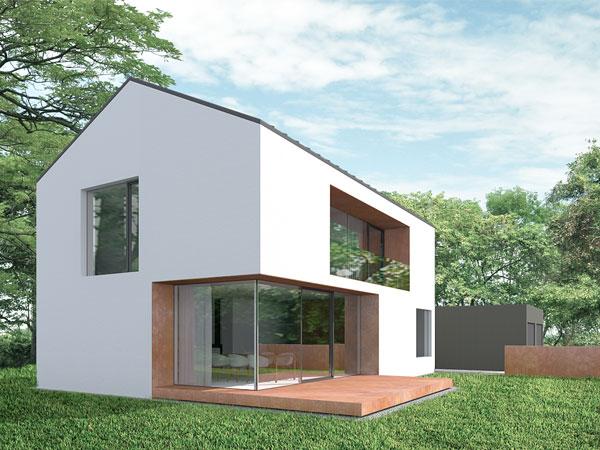 Aumer Massivhaus, Designhaus Gruber