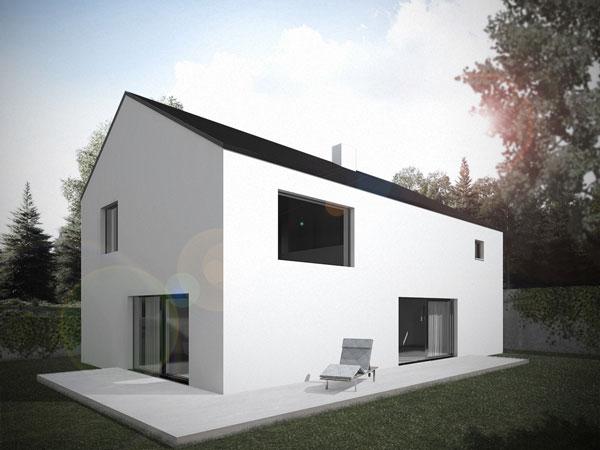 Aumer Massivhaus Typ Architktenhaus, Designhaus