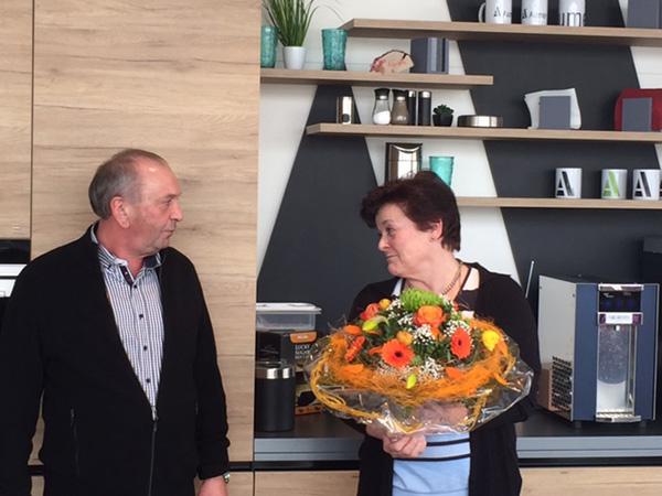 Verabschiedung Frau Kovar, Februar 2017
