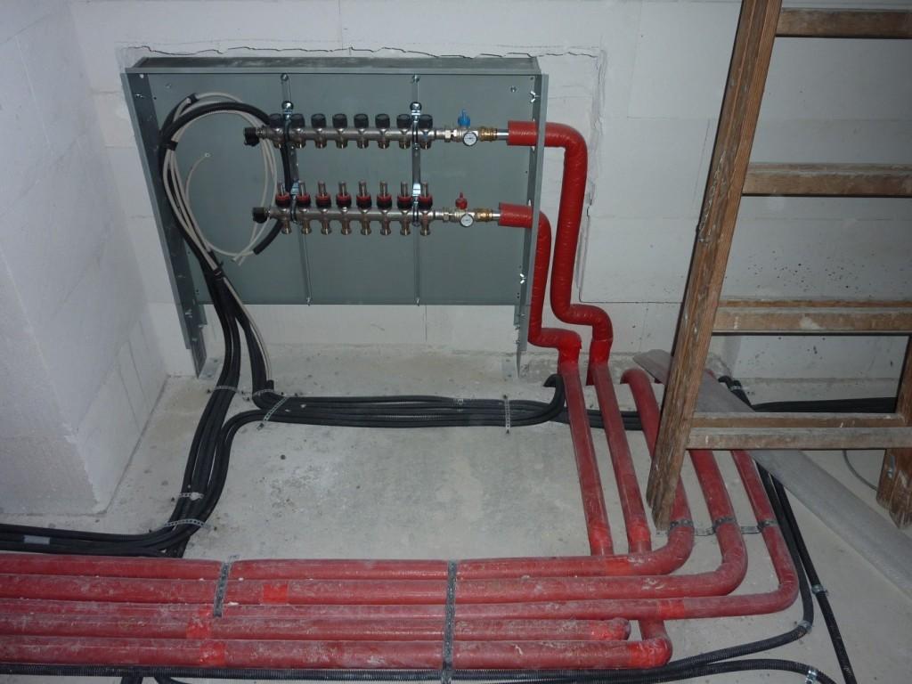 Aumer Massivhaus - Bauablauf - Rohinstallationen Elektro