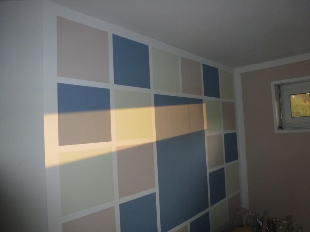 Aumer Massivhaus - Bauablauf - Malerarbeiten