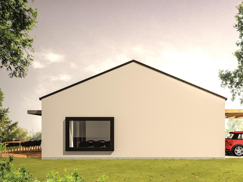 Aumer Massivhaus Typ Bungalow 117 Alternative Ansicht