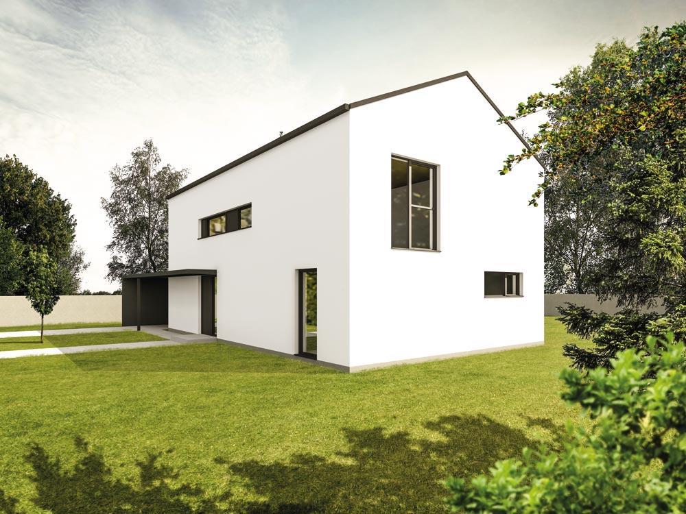 Aumer Massivhaus Typ Familienhaus 155 Alternative Ansicht