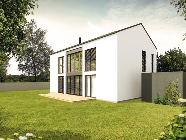 Aumer Massivhaus Typ Familienhaus 155