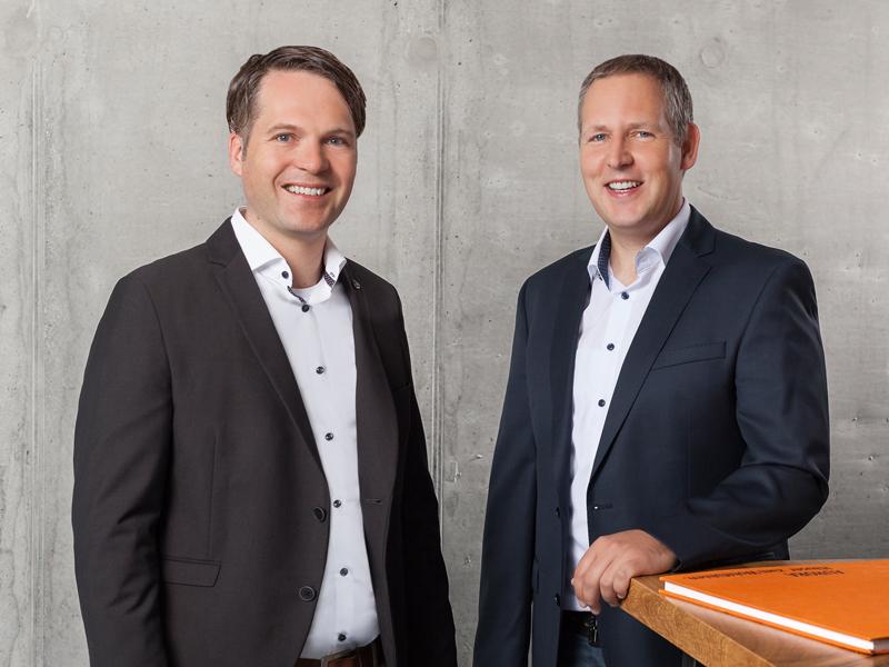Geschäftsführung Aumer Massivhaus: Ernst-Matthias Aumer, Michael Obermeier