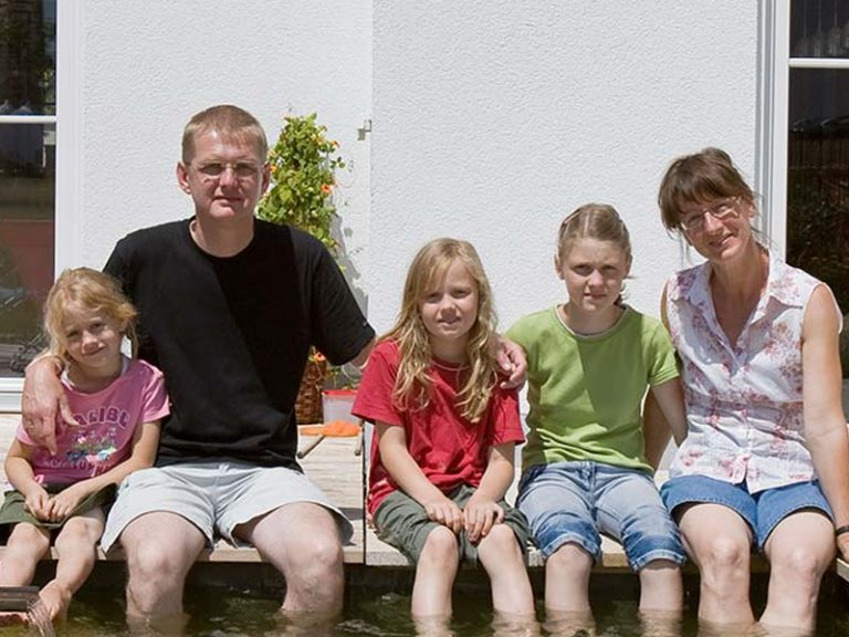 Kundenstimmen Aumer Massivhaus, Familie Drescher Braun