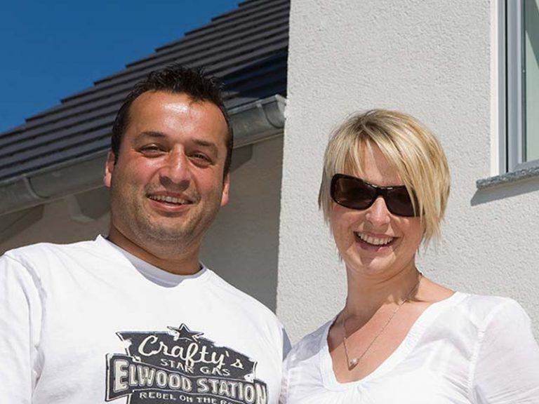 Kundenstimmen Aumer Massivhaus, Familie Reisinger / Eckert