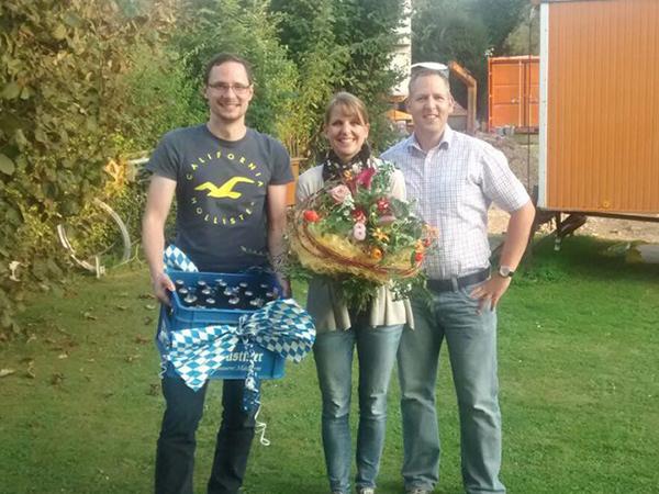 Richtfest in Nittendorf