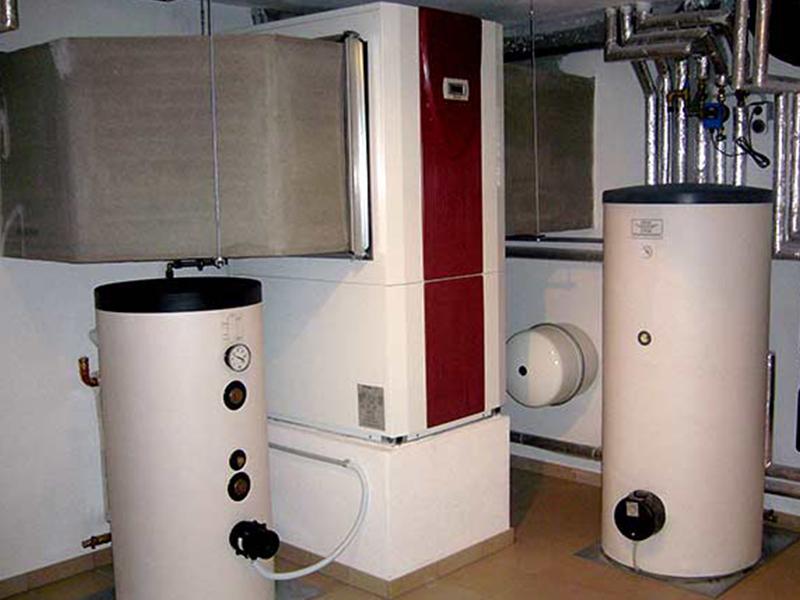 Wärmepumpe Innenaufsstellung Keller