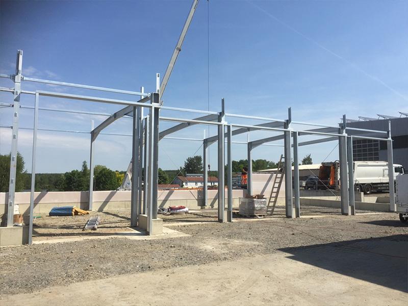 Aktuelle Bauvorhaben und Bauprojekte - Aumer Stahlbau | Hallenbau