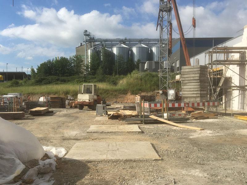 Aumer Stahlbau | Hallenbau: Bauvorhaben Wenning Metallveredelung