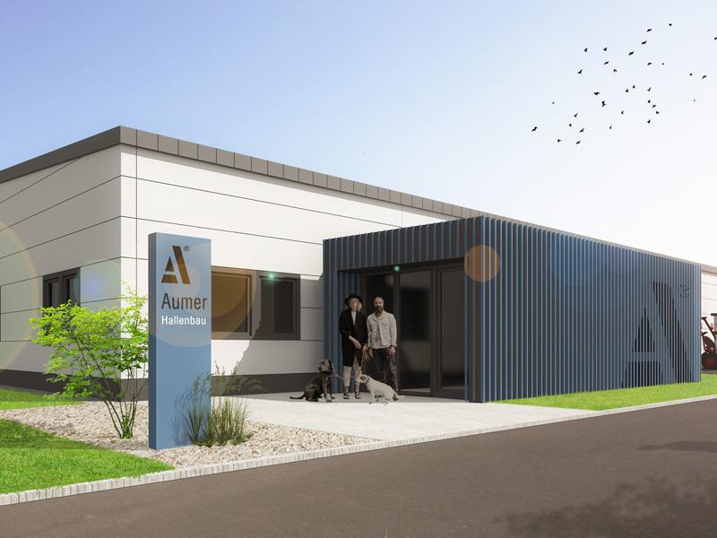 Aumer Musterhalle Gewerbebau Business Pro