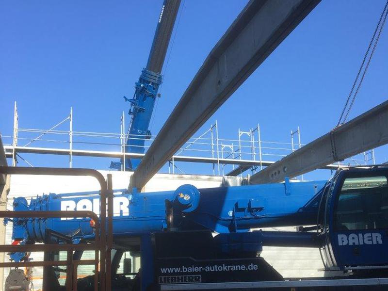 Ausbau bestehender Stahlbetonbinder