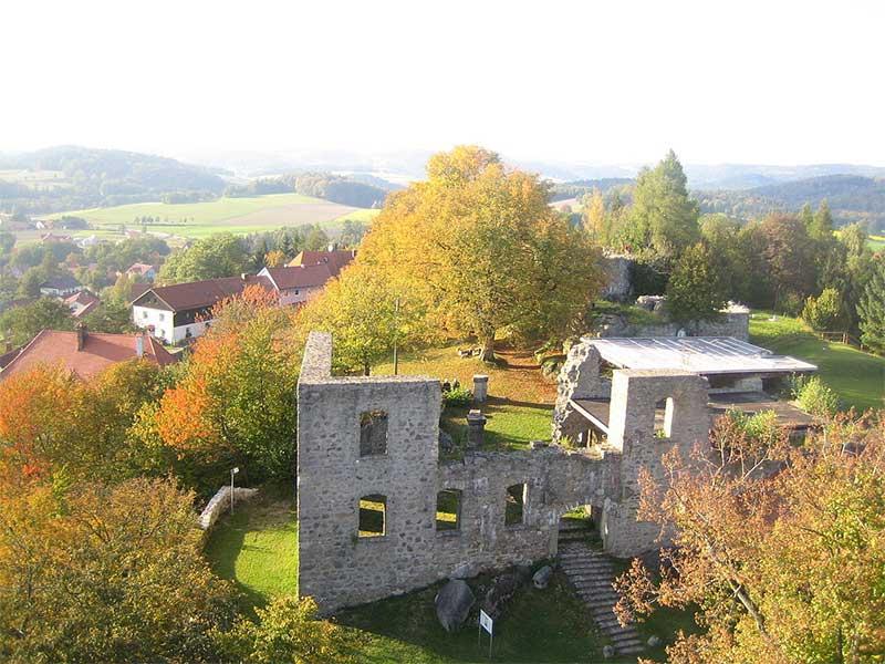 Burganlage Brennberg
