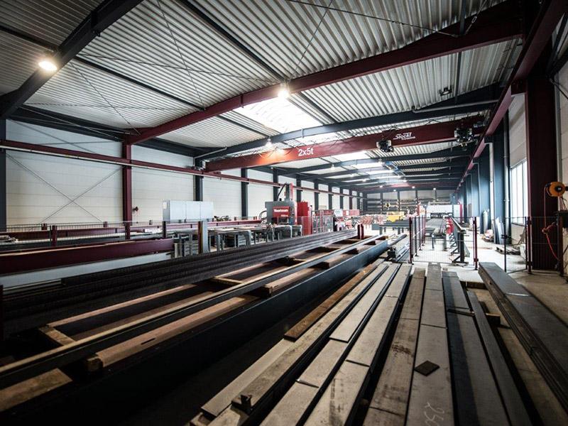 Fertigung von Stahlhallen für den Gewerbebau, Aumer Stahlbau - Hallenbau, Windischeschenbach
