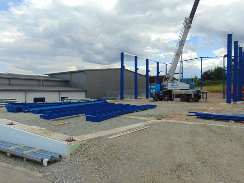 Produktionshalle für die Firma Wenning, Erbendorf