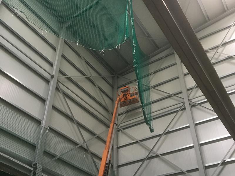 Montage der Brandschutzelemente