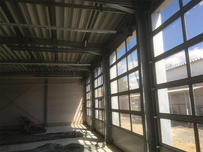 Hallenbau für Schindler Karosserie + Lack, Tirschenreuth
