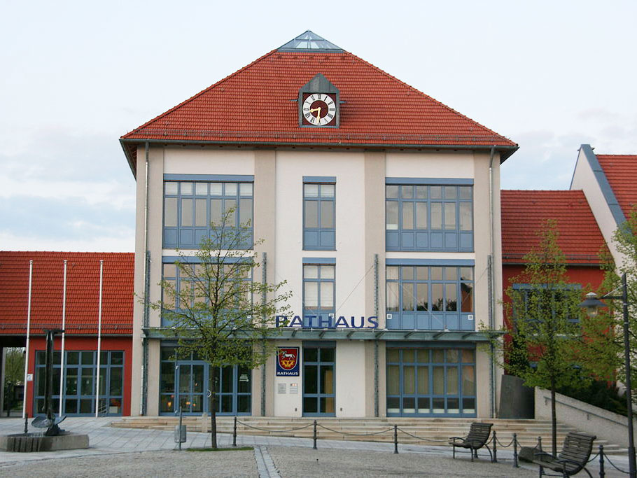 Das Rathaus in Nittendorf