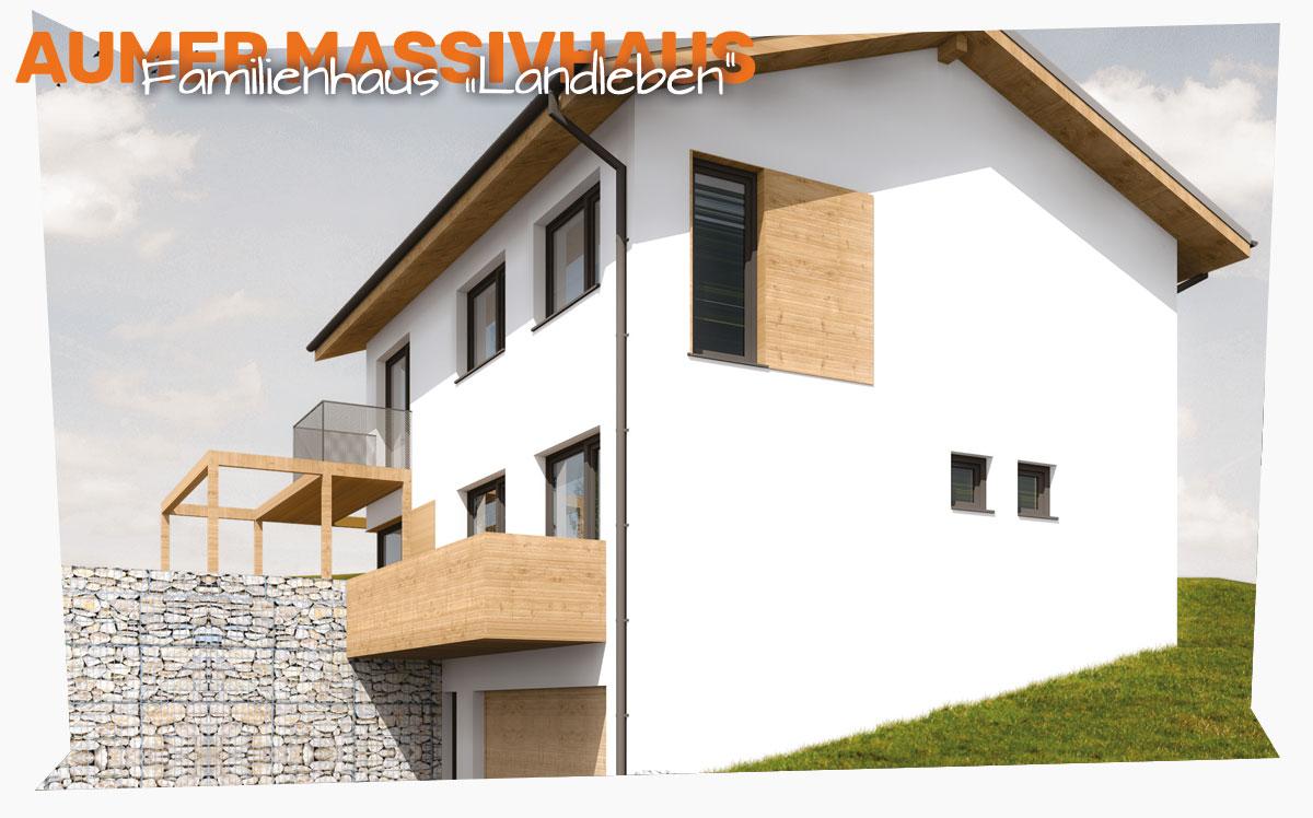 Perfekt in die Hanglage integriert: Das Familienhaus