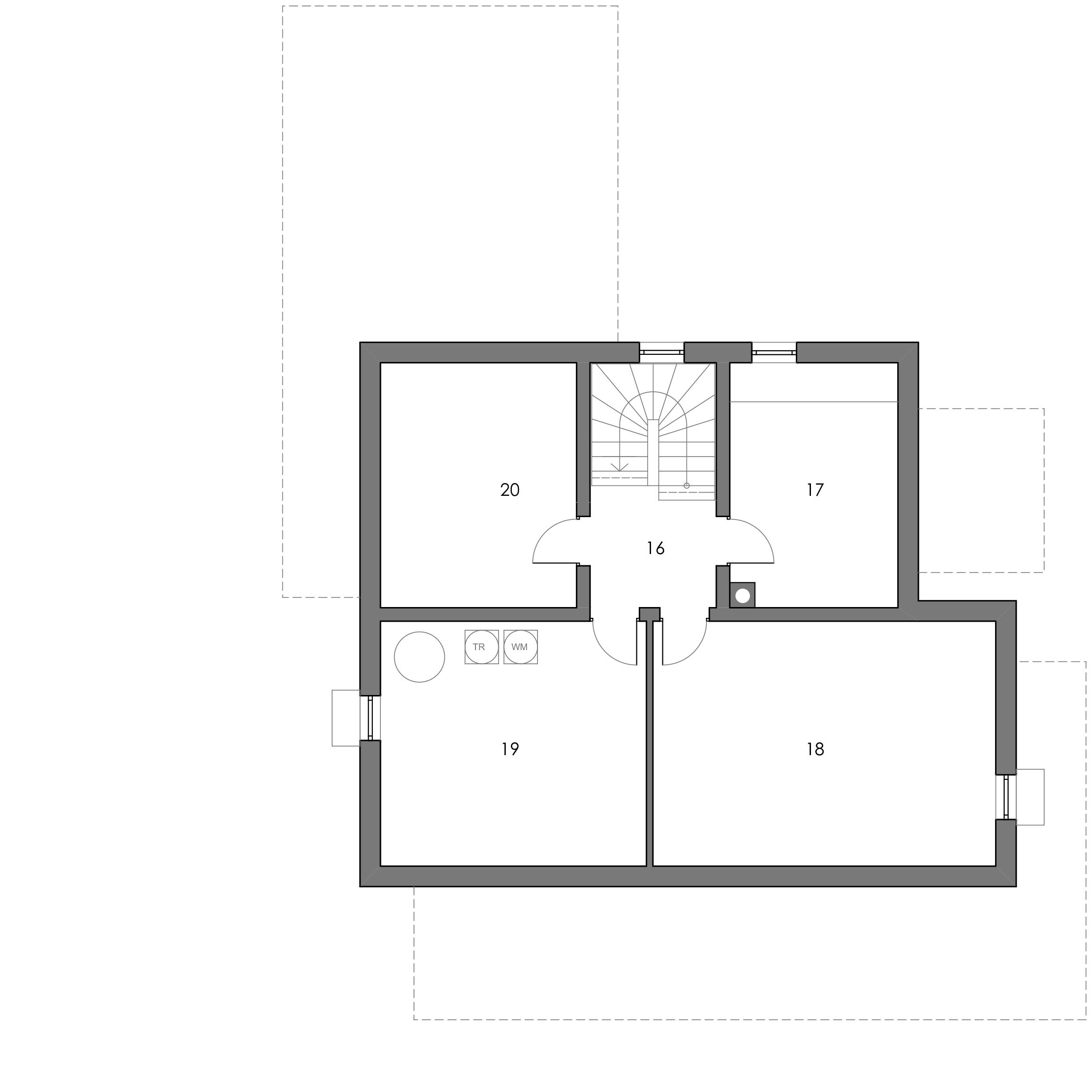 Grundriss, Kellergeschoss, Toskana 155