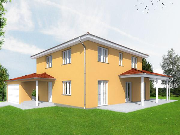 Aumer Massivhaus Toskana Haus 155