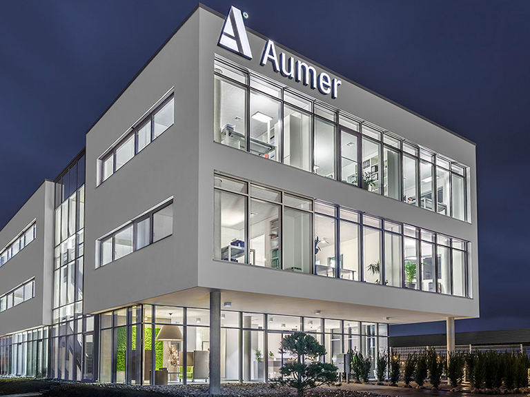 Aumer Group, Firmenzentrale