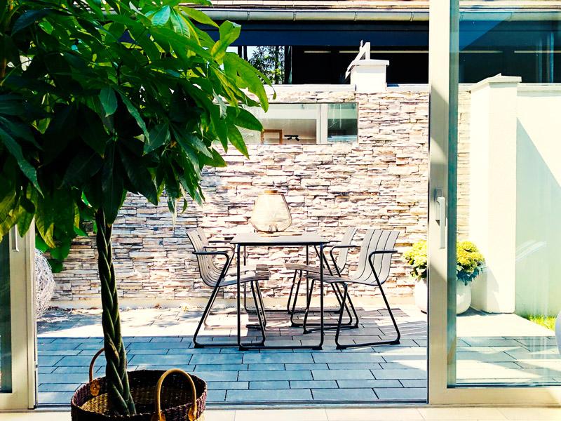 Nachhaltige Gartenmöbel, Aumer Massivhaus