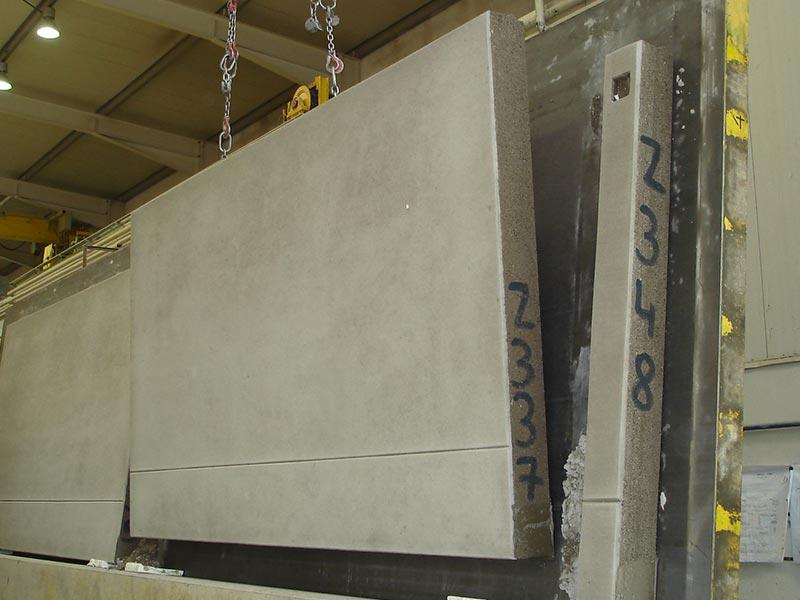 Thermodur Wandelemente bis zu 10 Tonnen