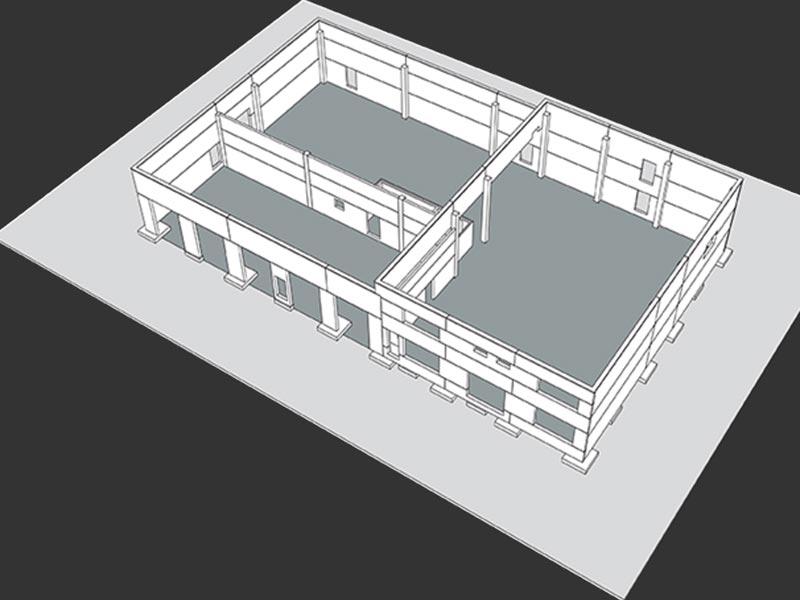 Thermodur Wandelemente CAD