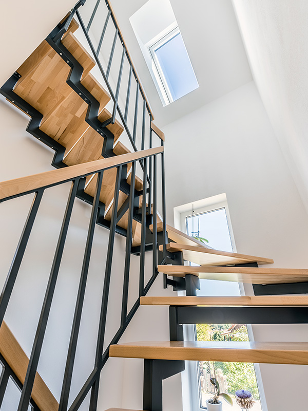Treppenkonstruktion Referenzhaus Raumwunder 180
