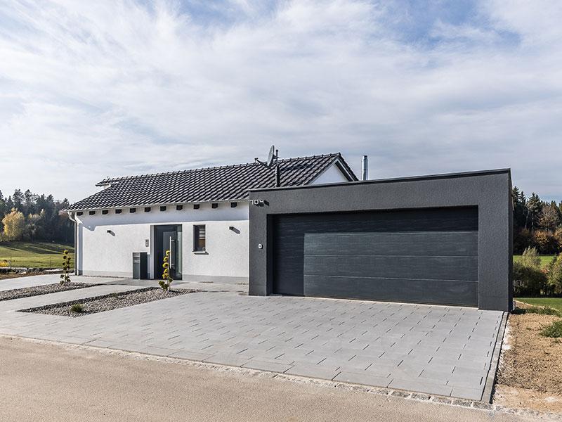 Aumer Massivhaus, Haus des Monats Mai 2020, Außenansicht