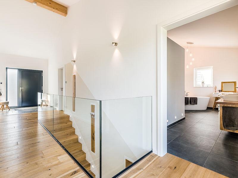 Aumer Massivhaus, Haus des Monats Mai 2020, Eingangsbereich