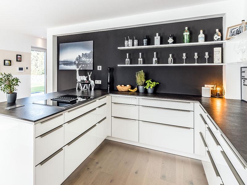 Aumer Massivhaus, Haus des Monats Mai 2020, Küche