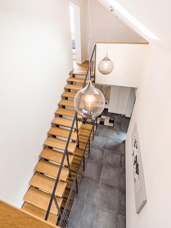 Eingangsbereich, Aumer Massivhaus, Haus des Monats Juli 2020