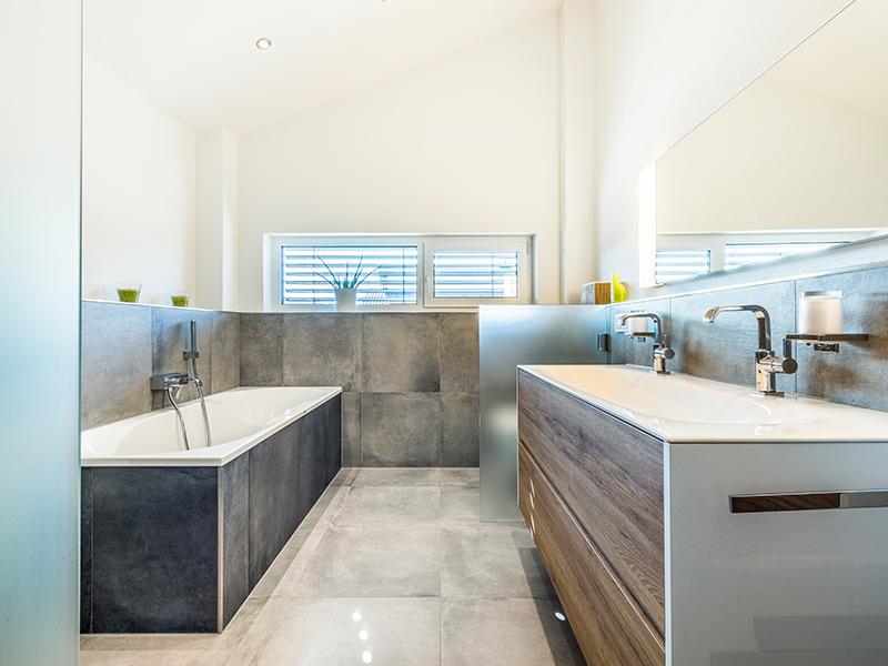 Das Bad in unserer Hausinspiration